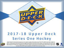 2017-18 Upper Deck Hockey Series 1 Tins (12 Packs/8 Cards/pk, 3 Young Guns +More