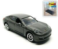 Majorette Porsche Panamera Dark Grey Car 1/64 209B no Package Free Display Box