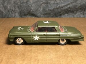 Vintage Corgi Toys | #358 | Oldsmobile Super 88 H.Q. Staff Car | US Army