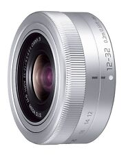 Panasonic LUMIX G VARIO 12-32mm F3.5-5.6 ASPH./MEGA O.I.S lens Silver H-SF12032
