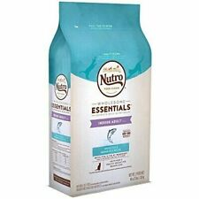 NUTRO WHOLESOME ESSENTIALS Adult Indoor Natural Dry Cat Food, 3 lb. Bag White Fi
