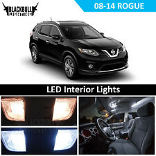 White LED Interior Light Package Accessories Kit for 2008-2017 Nissan Rogue 9 PC