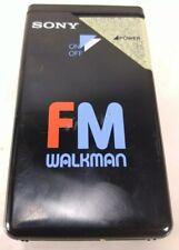 Sony Fm Radio Walkman, No Earphones Black White Red and Blue