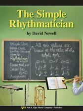 The Simple Rhythmatician Clarinet-Lower Register/Bass Clarinet/Trumpet Book-New!