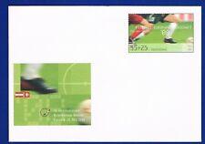 Plusbrief USo Briefmarkenmesse Essen 2008 nit  Mi 2650 Fußball  frankaturgültig