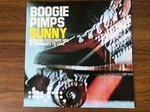 Boogie Pimps - Sunny  (Data Records) 12 inch Single Collectable Vinyl