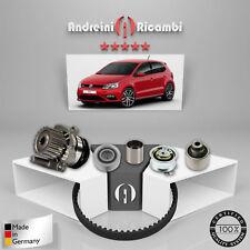 Kit Courroie de Distribution+Pompe à Eau VW Polo V 1.6 Tdi 66KW 90CV 2011->