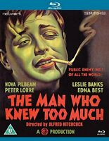 The Man Who Knew Too Much [Bluray] [DVD]