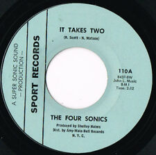 FOUR SONICS it takes two U.S. SPORT 45rpm_1968 northern SOUL ORIGINAL 110