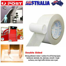 20M Roll Carpet Adhesive Tape Double Sided Rug Mat Runner Pad Non Skid Gripper