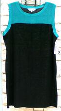 NWT MISOOK XL BERMUDA BLUE/BLACK DRESS EXTRA LARGE 16
