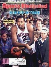 1982 Moses Malone Philadelphia 76ers Sports Illustrated 11/1/82