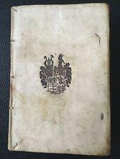 Seltenes Buch der GRAFEN FUGGER ZU KIRCHBERG UND WEIßENHORN, 1622, Bibliothek