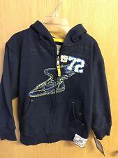 Nike Boys Blue Hoodie Sweatshirt NWT size 4