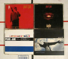 PEARL JAM 4 CD SINGLE LOT GO DAUGHTER LAST KISS GIVEN TO FLY DIGIPAK EPIC