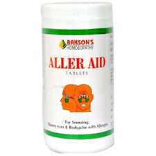 Homeopathic Bakson Aller Aid 200 Tablets Free Shipping