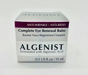 ALGENIST Complete Eye Renewal Balm With Alguronic Acid 0.5 oz/15 ml New in Box