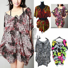 Women's Hand-wash Only Floral Batwing, Dolman Sleeve Tops & Blouses