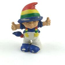 "Rainbow Brite Figurine 1980 W Berrie Portugal 2 1/4"" Tall"