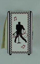 Elvis Presley Napkin Dispenser with new package of fresh napkins 1997 EPE
