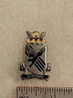 Authentic US Army 505th Airborne Infantry Regiment DI DUI Crest Insignia D-22