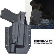 Bravo Concealment OWB Gun Holster Glock 19 23 32 w/ Surefire X300 Ultra