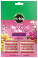 (1) Scotts 1003661 10 Pk Miracle Gro 10-10-10 Orchid Plant Food Spikes - 162318