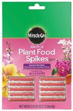 (24) Scotts 1003661 10Pk Miracle Gro 10-10-10 Orchid Plant Food Spikes - 162318