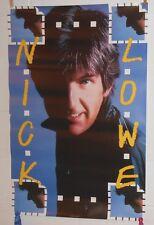 Nick Lowe 1983 Abominable Snowman Original Promo Poster 23x36