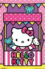 Hello Kitty Poster ~ Puppet Show 22x34 Cartoon Anime Yuko Shimizu Sanrio