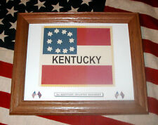 American Civil War Flag, Southern Stars and Bars Flag....1st Kentucky Infantry