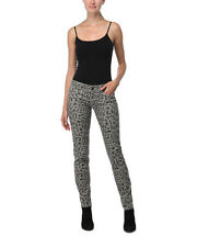 Jeans REQUEST JEANS Leopard Print Skinny Jeans Size 3  NEW NWT
