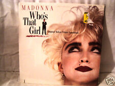 MADONNA WHO'S THAT GIRL SEALED LP
