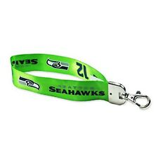 Seattle Seahawks 12th Man Wristlet Lanyard [NEW] NFL Keychain Key Chain Car Auto