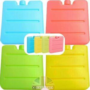 Mini Freezer Cool Blocks Ice Pack Cooler Reusable Picnic Travel Lunch Box 1-4 Pk