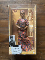Barbie Signature Inspiring Women Series Maya Angelou Collector Doll SHIPS TODAY!