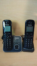 Panasonic KX-TG6802 Teléfono Inalámbrico Con Contestador Automático Doble Caja