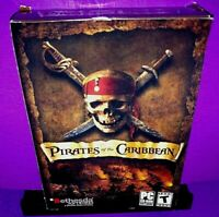 Pirates of the Caribbean (PC CD ROM, 2003) Brand New B574