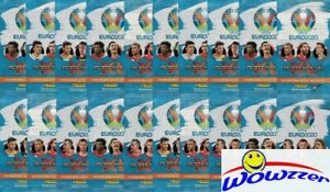 (20) 2020 Panini Adrenalyn EURO Factory Sealed Promo Pack-160 Cards! From EUROPE