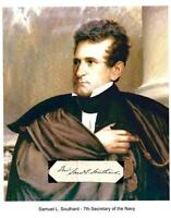 Samuel L Southard Autograph Secretary Navy Governor Senator New Jersey Princeton