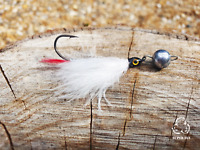 JIG FLY Rocket Steamer fishing fly lure handmade pike SUPER FLY 5g cheb x2 units