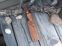 """TOPS BOB Fieldcraft LF Custom Leather Bushcraft Sheath """"ONLY"""" N,Outdoor,Camping"""