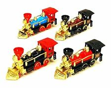 "Classic Team Loco Train Display 7"" STEAM LOCOMOTIVE die-cast Set Of 4 9935D"