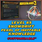 All Platforms Borderlands 3 Modded Pearl Of Ineffable Knowledge Artifact