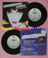 LP 45 7'' LINDA RONSTADT AARON NEVILLE Don't know much Hurt so bad no cd mc dvd