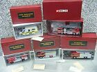 COLLECTION OF FIRE BRIGADE MODELS, FIRE ENGINES & AMBULANCE