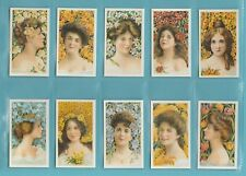 More details for beauties - nostalgia repros  (of b.a.t.) - 10 sets of 25 - blossom  girls  cards