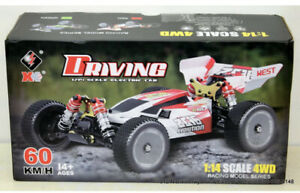 Wltoys XKS 144001 RC Car 60km/H Speed 1/14 Scale 2.4GHz 4WD Racing Off-Road RTR