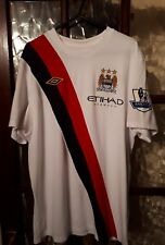 Manchester City 2009/10 third shirt Tevez 32 Size 42 Rare