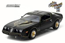 "1980 PONTIAC TRANS AM ""SMOKEY AND THE BANDIT 2"" MOVIE 1/24 BY GREENLIGHT 84031"